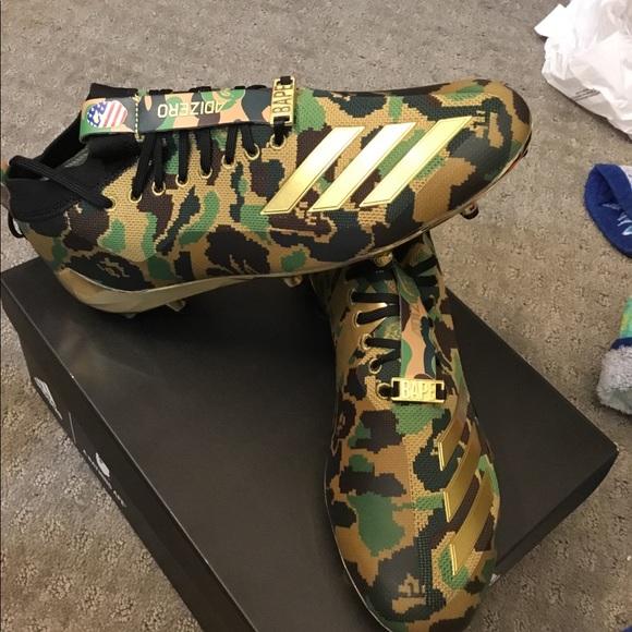5c9d2dd45 Adidas Bape Men s 5 star 7.0 Cleats camo Green